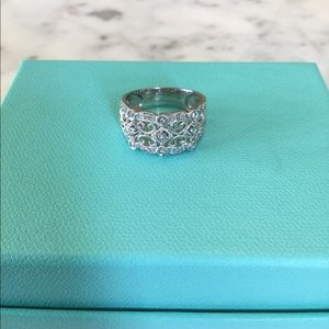 Marks & Morgan Diamond Sterling Silver Ring